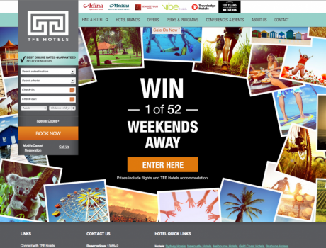 TFE Hotels Great Weekends Campaign